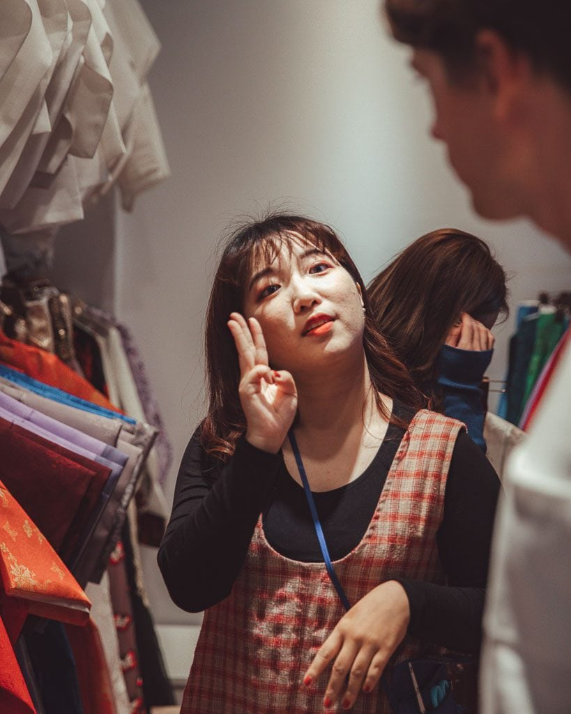 The Artist Hanbok Rental Seoul