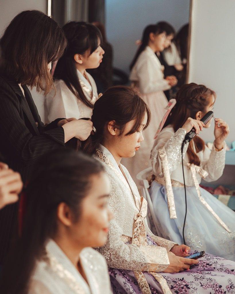 Hanbok Hairstyle