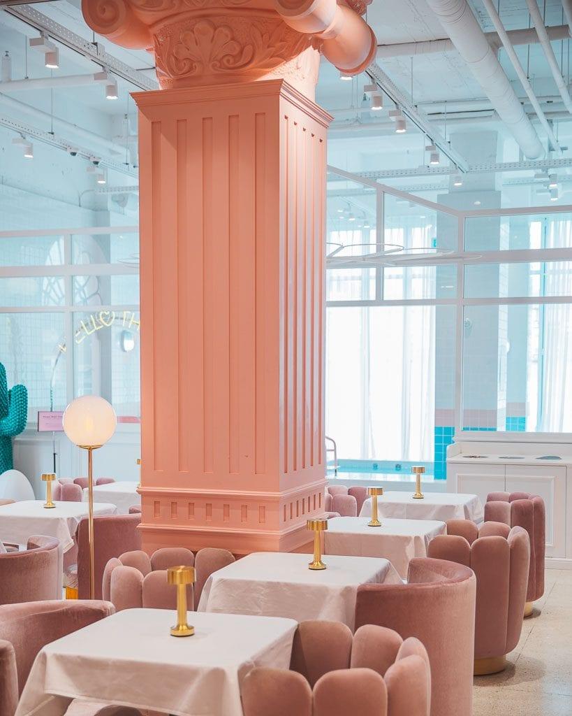 Pink Pool Cafe Seoul