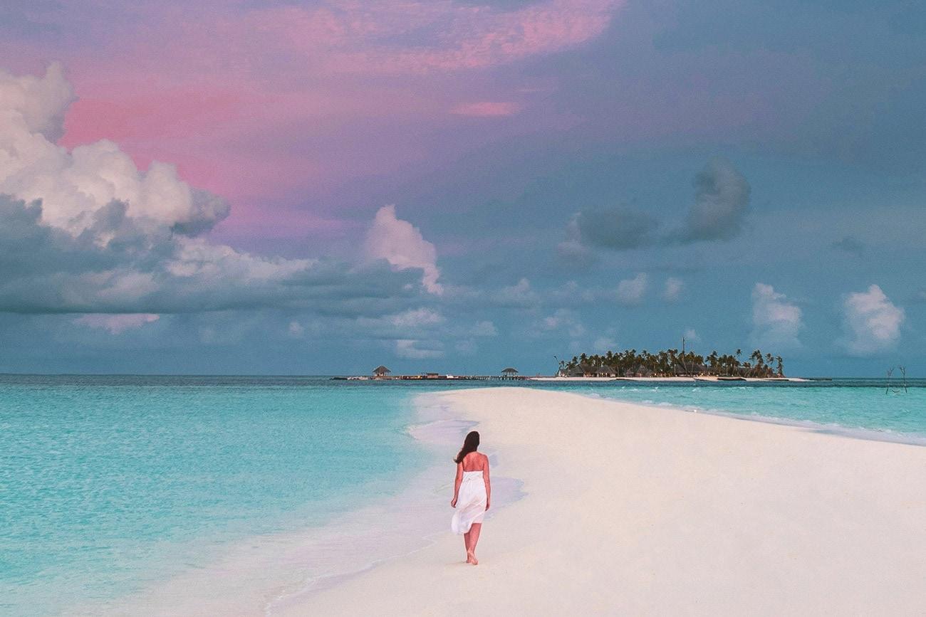 sandbank picnic maldives