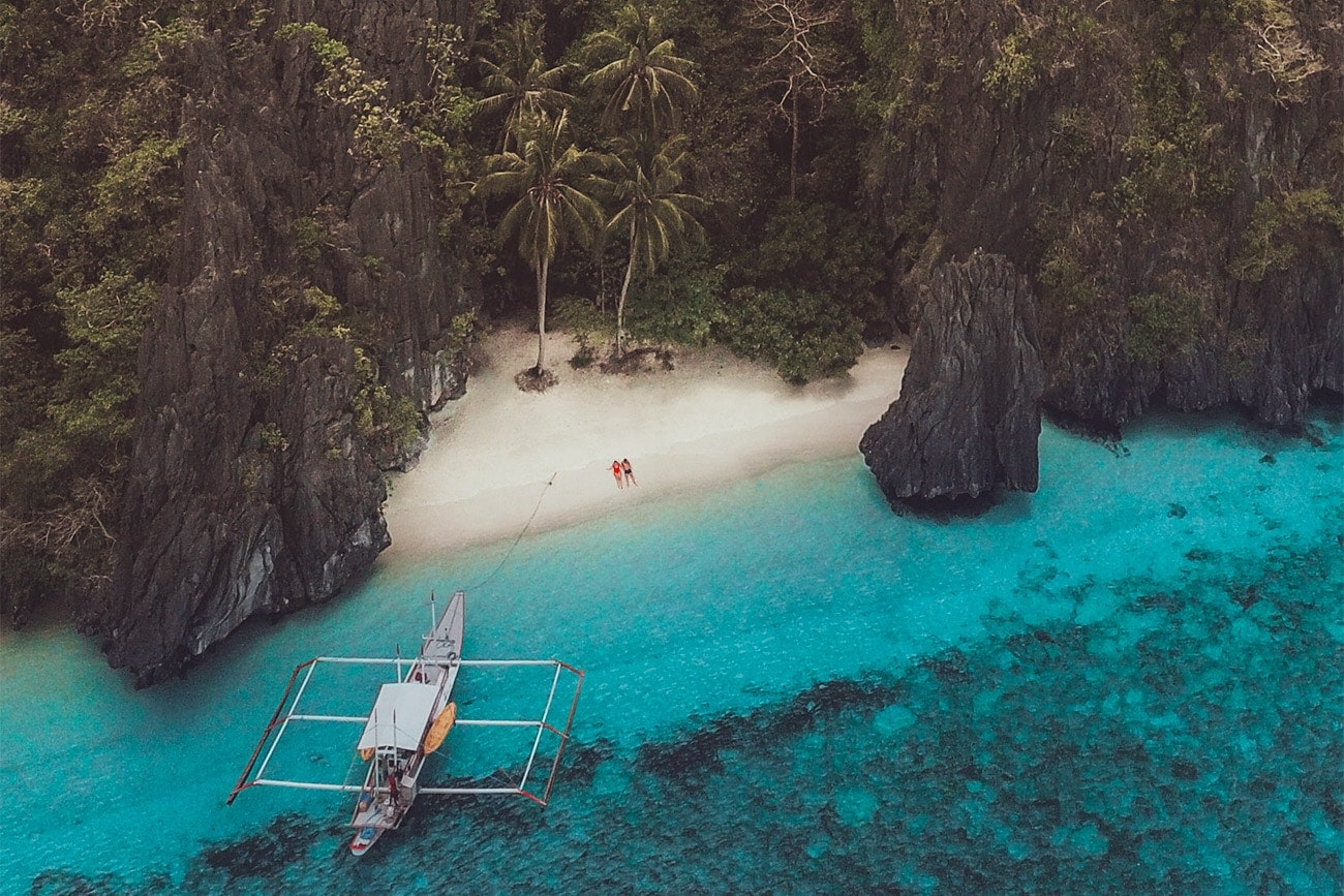 Private boat tour in el nido