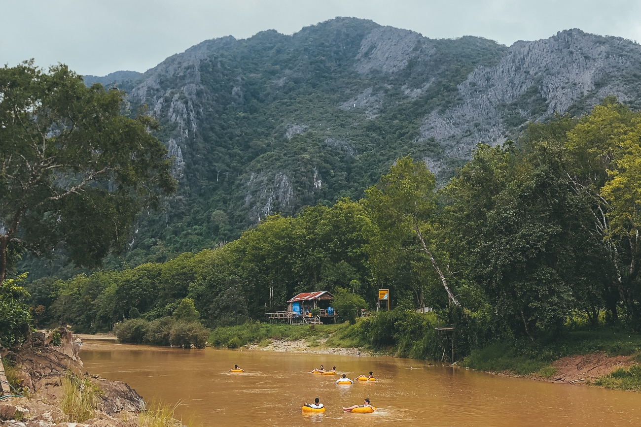 Vang Vieng Tubing – The Most Fun Experience in Laos