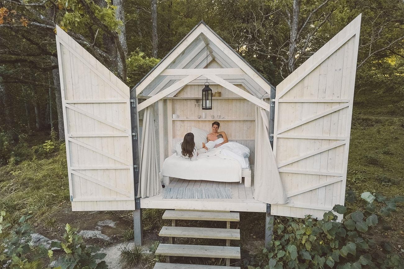 72 hour cabin sweden