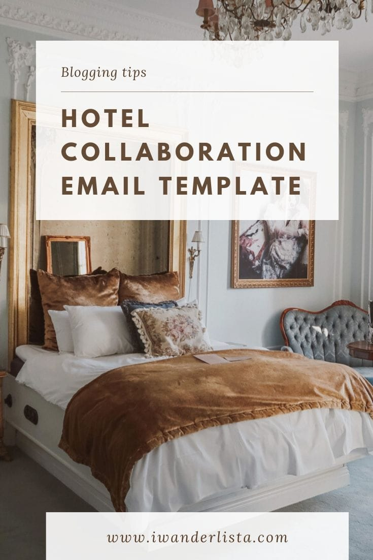 Hotel Collaboration Email