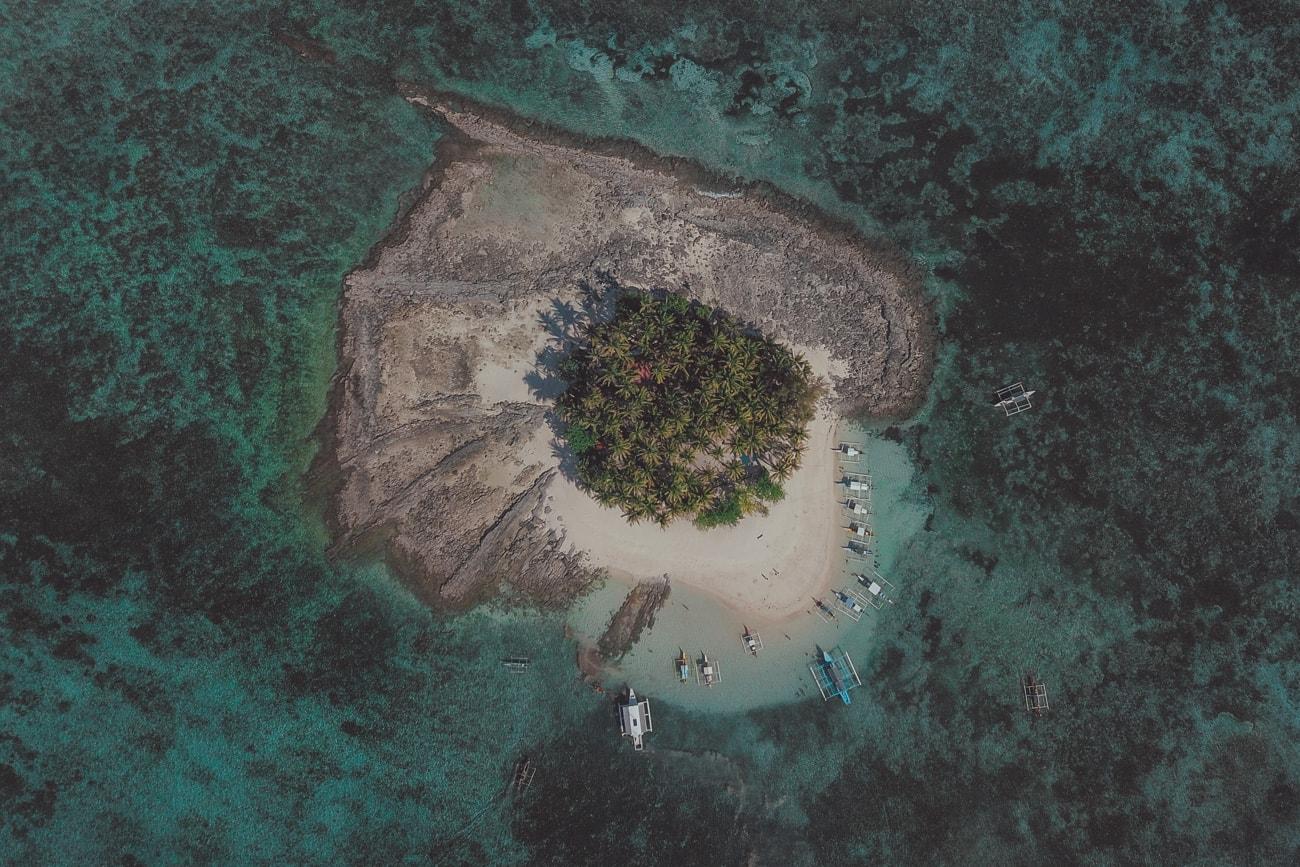 Guyam Island Drone