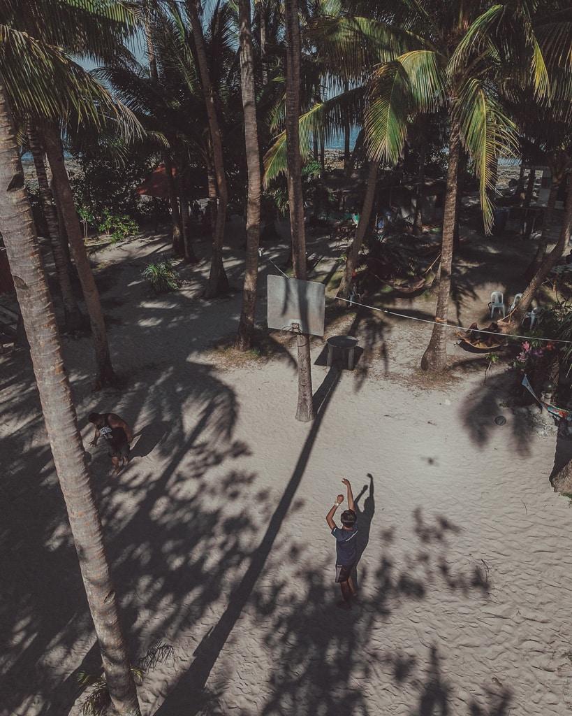Basketball Guyam Island