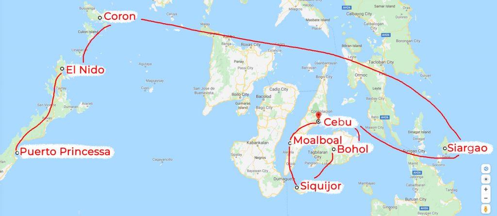 Philippines itinerary