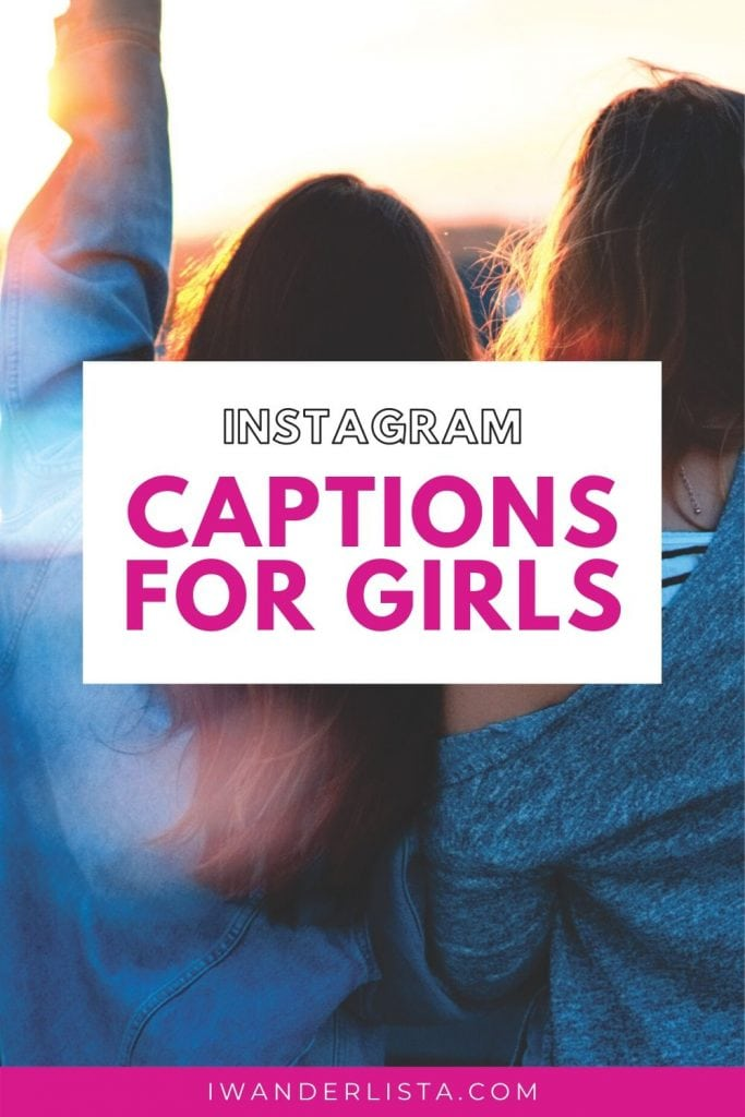 Captions for girls