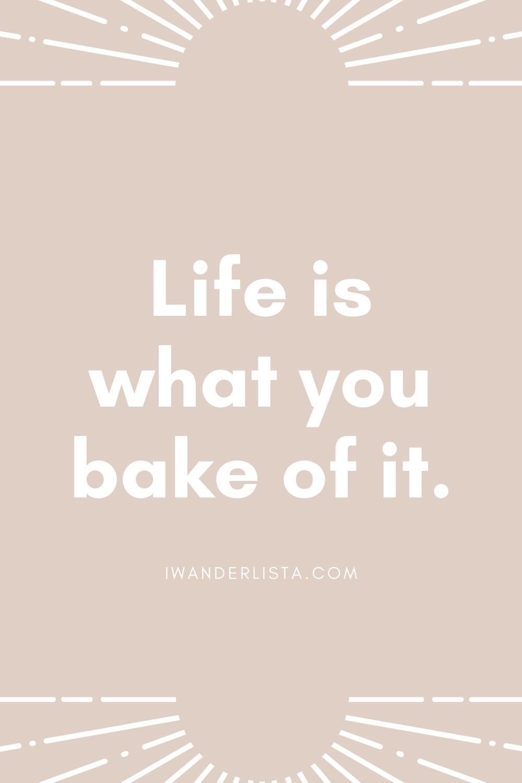 Baking captions