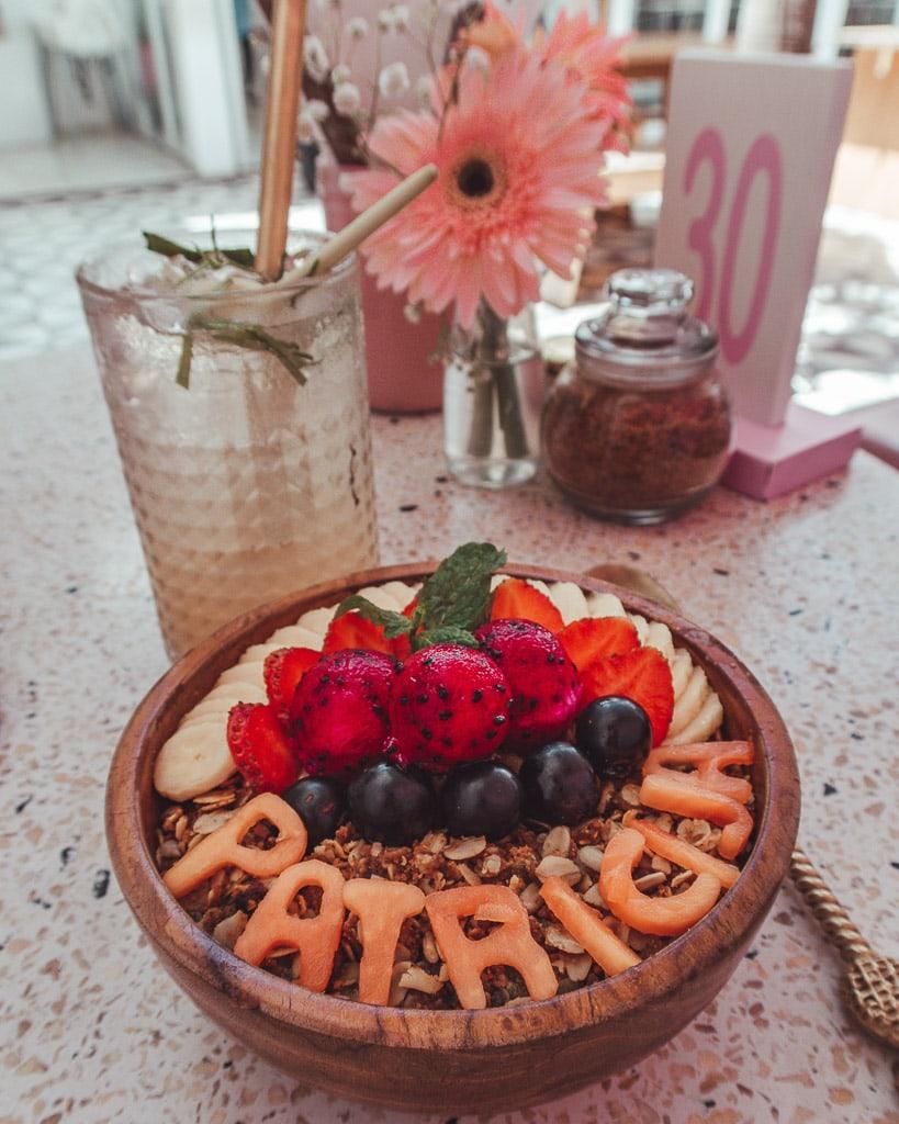 Smoothie bowls Bali