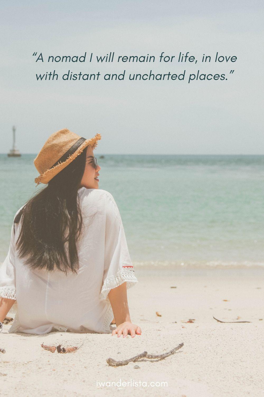 Travel Alone Captions